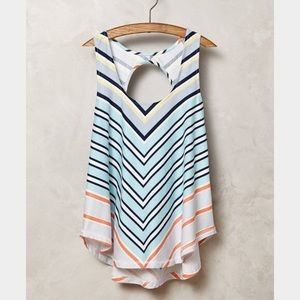 Anthropologie Deletta Swing Tank